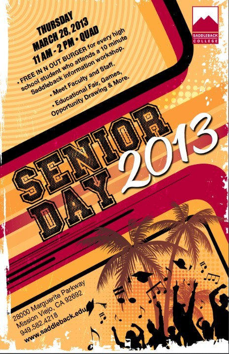 Saddleback Senior Day