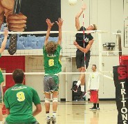 Boys' Volleyball Bringing the Hammer!