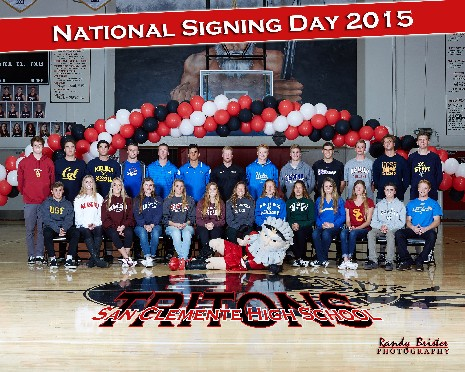 NATIONAL LETTER OF INTENT SIGNING DAY 2015!!